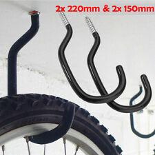 BIKE hanging HOOKS storage Bicycle Mega LARGE STRONG 8.5mm Wall hanger Brackets