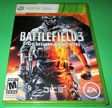 Battlefield 3 -- Premium Edition Microsoft Xbox 360 *Factory Sealed! *Free Ship!