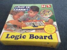 Play To Learn Logic Board Game Ages 3 - 6 (72 Electronics Cards)