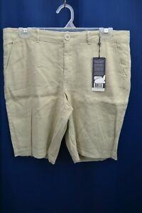NWT NYDJ Women's Khaki Bermuda Shorts Size 8P With Lift-X-Tuck Technology NWT