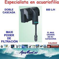 filtro mochila externo exterior acuario HBL702 cascada marino dulce pecera 800L.