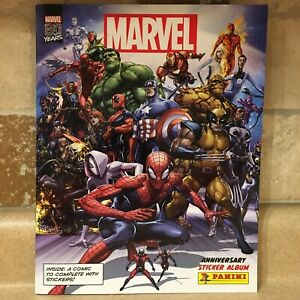 2020 Panini Marvel 80 Year Anniversary sticker Albums Marvel Comics New