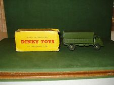 ***1950's DINKY 3 TON ARMY WAGON w/BOX, SUPER NICE CONDITION*******