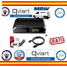 TDT QVIART T2  +GARANTIA 2 AÑOS MRW 24H+USB 16GB+HDMI