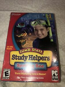 Jump Start Study Helpers Spelling Bee CD PC-ROM Game 2007 New!!