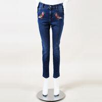 93d932d8f New Stella McCartney $425 Matte Black Cotton Skinny Jeans 802727 ...