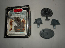 STAR WARS VINTAGE RADAR LASER CANNON KENNER MINI-RIG AND BOX