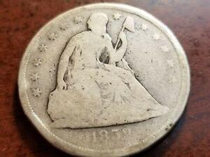 1859 O Seated Liberty Silver Dollar     INV06   S602