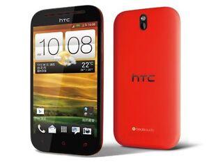 "Unlocked Original HTC One SV 4"" Androd Phone 3G 4G Wifi GPS 5MP/1.6MP Camera"
