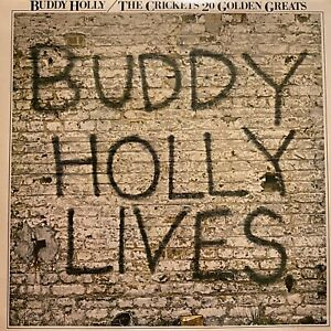 BUDDY HOLLY 20 Golden Greats LP MCA 5508-9 rare PHILIPPINES import NM