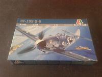 Avion militaire BF-109 G-6 ITALERI echelle 1:72 Ref 063