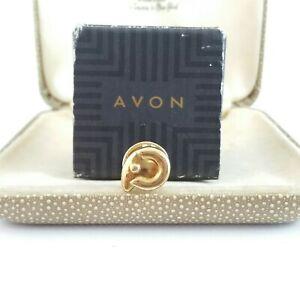 Avon Aries star sign ram small 22ct gold plated pin badge lapel badge horoscope