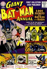 BATMAN ANNUAL (1961 Series)  (DC) #1 Good Comics Book