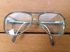 Vtg Aviator Eyeglasses Rx Frames Green Hipster Jason 58-18-145 Adonis 216S-8