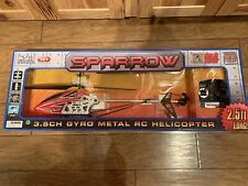 World Tech Toys Sparrow 3.5CH GYRO METAL RC Helicopter 2.5 Feet Long - NEW
