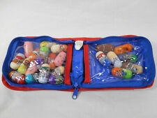 Mighty Beanz collection with carrying bag