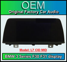 BMW 3 Series display screen, BMW F30 F31, L7 CID MID, LCI Multi function