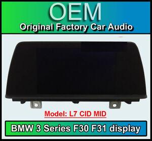 BMW 3 Series display screen, BMW F30 F31, L7 CID MID, LCI Multi function