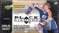 2006-07 Black Diamond Factory Sealed Hockey Hobby Box  Gemography RC Auto