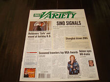 THE BIGGEST LOSER Daily Variety mag for 200th episode J. D. Roth, Alison Sweeney