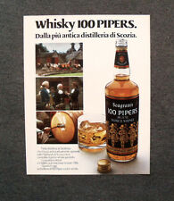 [GCG] M801 - Advertising Pubblicità - 1970 - WHISKY 100 PIPERS , STRATHISLA