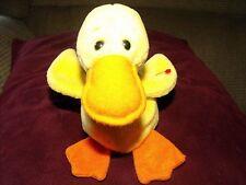 Quackers Beanie - 1993 - Pvc - Tush Tag/ No Swing - Mwnt -Great Gift!