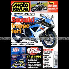 MOTO REVUE N°3679 GUZZI 1100 GRISO VOXAN BLACK MAGIC ★ PROGRAMME BOL D'OR 2005 ★