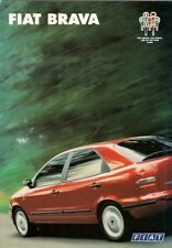Fiat Brava 1995-99 UK Market Sales Brochure ELX SX S 1.4 1.6 1.8 TD 75 100