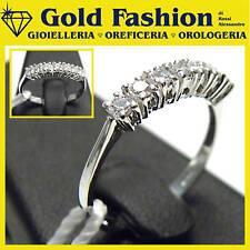 Anello in oro bianco 18 kt e diamanti -ct 0,28-GFA108/7