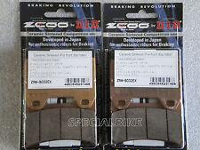 DUCATI MONSTER S4R 996 2003 > 2006 PASTIGLIE FRENO ZCOO RACING BRAKE PADS