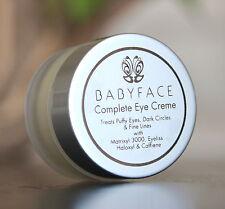 Babyface COMPLETE EYE CREAM Haloxyl Eyeliss Caffeine Wrinkles Dark Circles Puffy