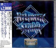 Atlantic Starr - Yours Forever (1983) Japan 1st Pressed CD w/OBI D20Y4023