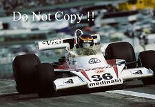 Emilio de Villota Iberia Airlines McLaren M23 español Grand Prix 1977 fotografía