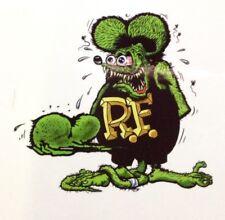RAT ROD HOT ROD STREET ROD  DECAL STICKER      CHOPPER  BOBBER  RAT FINK