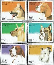 Benin 675-680 unmounted mint / never hinged 1995 Dogs