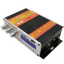 Mini amplificatore audio 55W 2 canali radio lettore mp3 da USB e scheda SD Fleco