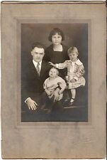 Grande CAB Photo bella immagine di famiglia-West Texas USA per 1930