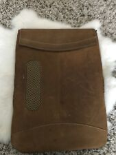 "Michael Santore Design Apple Mac MacCase Brown Leather 14""x10"""