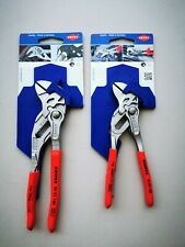 KNIPEX 2x Zangenschlüssel - 8603150/180mm - Zange Schlüssel vernickelt Neu!