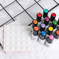 Silicone Display Dot Sticker Nail Polish Bottle Nail Art Tool Label Button