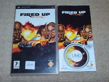 FIRED UP   - Rare Sony PSP Game