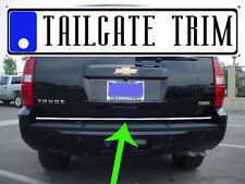 Chevy TAHOE 2007 2008 2009 Chrome Tailgate Trunk Trim