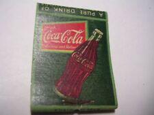 Goose Creek Tavern Phone Leesburg 33-J-2 Coca Cola Empty Matchbook