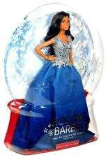 2016 Barbie Collector Peace Love Hope Holiday Doll African-American Blue Dress!