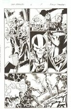 Fear Itself: The Fearless #6 p.7 - Crossbones and Sin - 2012 art by Mark Bagley