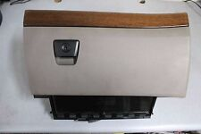 VOLVO XC90 Glove Box Compartment Tan with Wood Trim. Part # 3409421.