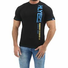 Mens HLY Designer Printed T Shirt 100% Cotton Gym Athletic Crew Neck Tee Top