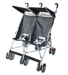 Amoroso Twin Umbrella DOUBLE Stroller Baby Strollers 2 Seats Multiple Multi Seat