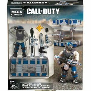 MEGA Construx - Call of Duty Collector Construction Set - NAVY WEAPON CRATE