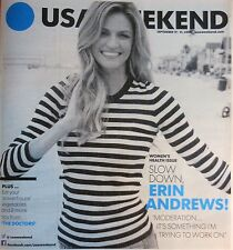USA WEEKEND SEPTEMBER 2014 ERIN ANDREWS WOMEN'S HEALTH ISSUE